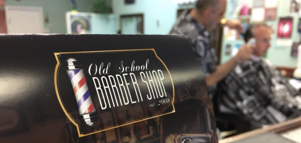 The Old School Barber Shop in Alpharetta, Ga., is doing about 30 percent of its normal business. (Old School Barber Shop)