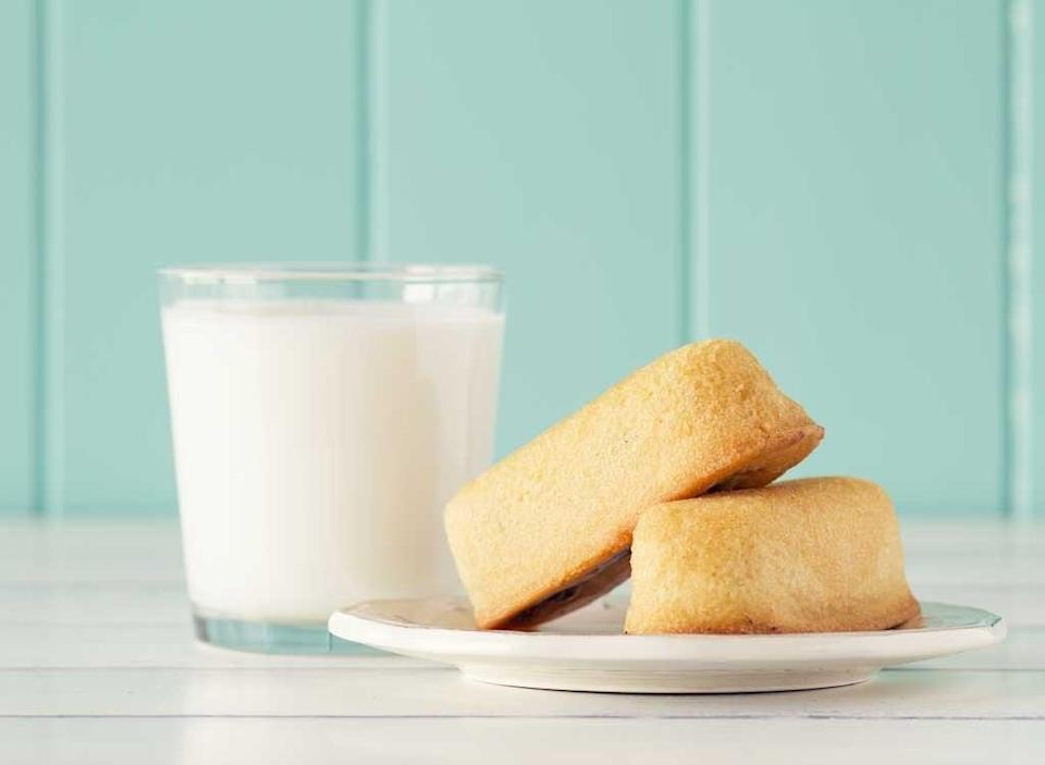 Twinkies and milk