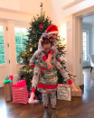 """<p>Though Sarah Michelle Gellar is a mother of two, she looked like a kid herself while jumping around on Christmas morning in her holiday-themed <i>Star Wars</i> pajamas. """"Party like it's [Christmas],"""" she wrote. """"Merry Merry to all."""" (Photo: <a rel=""""nofollow noopener"""" href=""""https://www.instagram.com/p/BOcukq9gz1z/"""" target=""""_blank"""" data-ylk=""""slk:Instagram"""" class=""""link rapid-noclick-resp"""">Instagram</a>) </p>"""