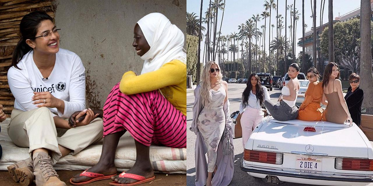 <p>On Sunday, people around the world celebrated International Women's Day. Here are some of the best celebrity Instagram posts celebrating the day and supporting women's causes worldwide. </p>