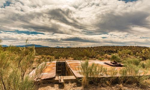 Nuclear missile bunker: yours for less than $400k
