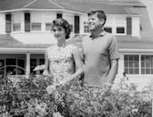 <p>The year before he turned 40, then-Senator Kennedy was critically ill and underwent several spinal surgeries. At one point he was administered Catholic last rites. The next year, at 40, he won the Pulitzer Prize for Biography for his book Profiles in Courage. Three and a half years later he was elected president. </p>