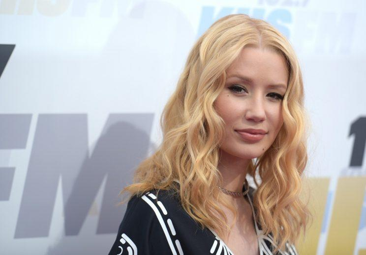 Australian musician Iggy Azalea is reportedly dating Odell Beckham. (AP)