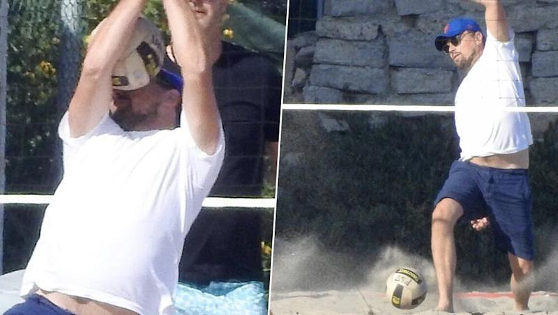 Leonardo DiCaprio Gets Hit in the Face With a Volleyball, Netizens Turn His Pictures into Hilarious Memes