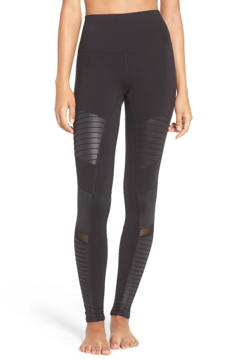 <p>These <span>Alo High Waist Moto Leggings</span> ($114) are this editor's personal go-to. They're so comfortable and have held up in everything from yoga to Spin class to cross-country flights.</p>