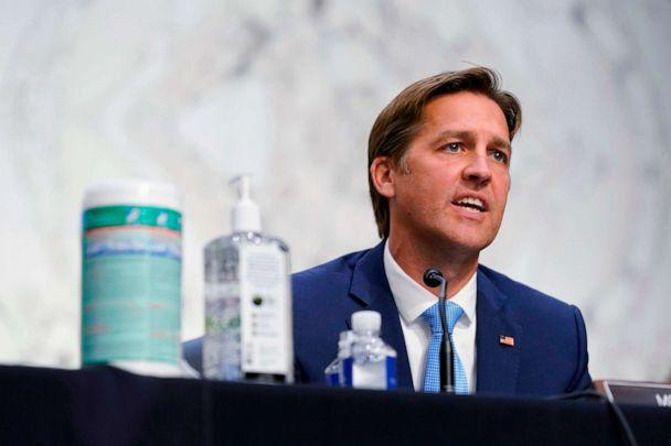 PHOTO: Sen. Ben Sasse speaks during the confirmation hearing for Supreme Court nominee Amy Coney Barrett before the Senate Judiciary Committee on Capitol Hill in Washington, DC, Oct. 13, 2020. (Patrick Semansky/AFP via Getty Images)