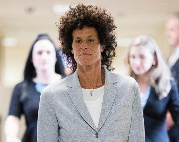 PHOTO: Andrea Constand walks to the courtroom during Bill Cosby's sexual assault trial at the Montgomery County Courthouse in Norristown, Pa., June 6, 2017. (Matt Rourke/AP)