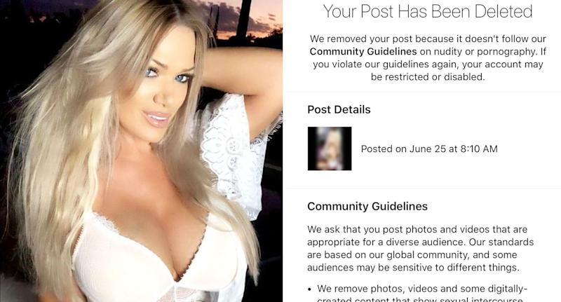 Gina Stewart, 48, regularly posts lingerie pictures on her Instagram account. [Photo: Instagram]