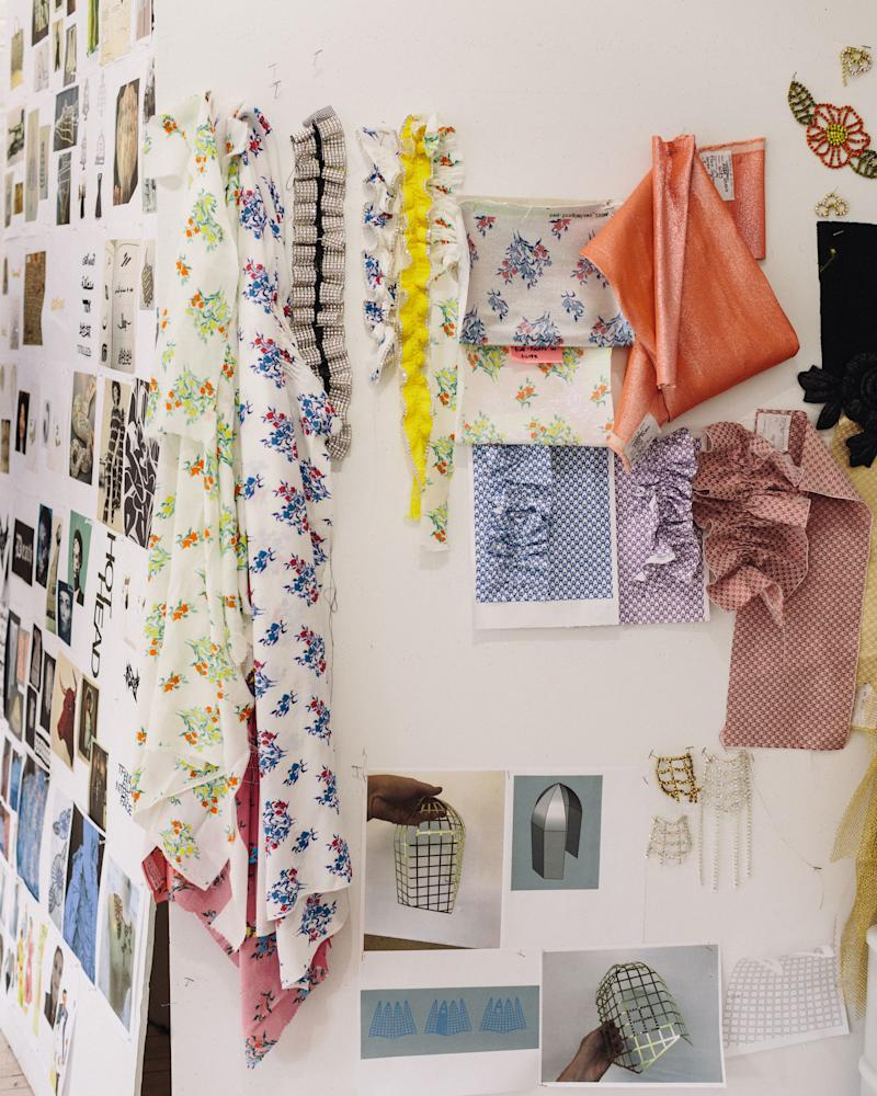 Area's mood board for Spring 2020