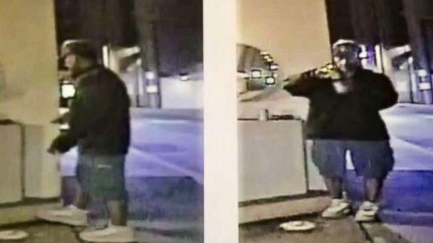 PHOTO: A suspect is wanted for attacking homeless people with baseball bats in downtown Los Angeles. (Los Angeles Police Department/Twitter)