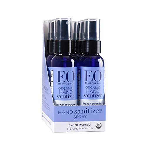 """<p><strong>EO</strong></p><p>amazon.com</p><p><a href=""""https://www.amazon.com/dp/B001Q23J3G?tag=syn-yahoo-20&ascsubtag=%5Bartid%7C2139.g.33415441%5Bsrc%7Cyahoo-us"""" rel=""""nofollow noopener"""" target=""""_blank"""" data-ylk=""""slk:BUY IT HERE"""" class=""""link rapid-noclick-resp"""">BUY IT HERE</a></p><p>This organic formula is made with alcohol derived from non-GMO sugar cane. It contains 62 percent ethanol to kill germs and smells like fresh lavender. </p>"""