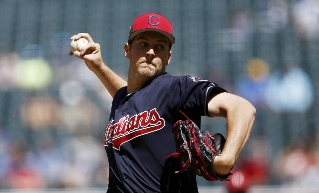 It's safe to say Trevor Bauer sees the game a little differently. (AP)