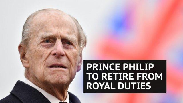 95-year-old Prince Philip to retire from public engagements from autumn 2017
