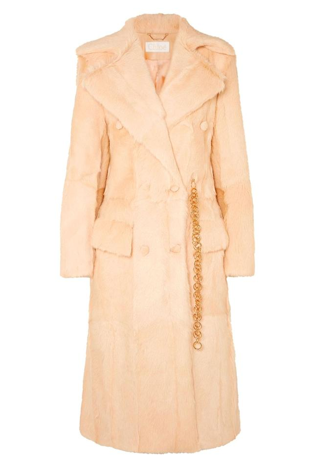 "<p><a rel=""nofollow"" href=""https://www.net-a-porter.com/gb/en/product/1082691/chloe/double-breasted-shearling-coat"">SHOP NOW – 70% OFF</a></p><p>This beautiful shearling coat will have you raking in the compliments for years.</p><p><em>Shearling coat, was £7,490, now £2,247, Chloe at Net-a-Porter</em></p>"