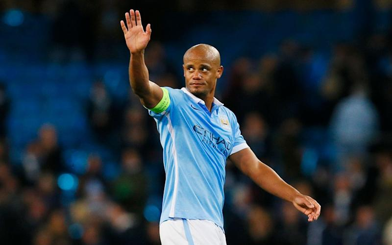 Vincent Kompany travelled to Monaco, but was not named in Manchester City's squad - -