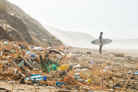 """<p>Surfers Against Sewage is an environmental charity aimed at cleaning the coastlines. To do this, it provides volunteers in local communities with the tools they need to organise beach cleans and teaches the importance of beach cleans in schools.<br>You can donate here at <a rel=""""nofollow noopener"""" href=""""https://www.sas.org.uk/donate/"""" target=""""_blank"""" data-ylk=""""slk:SAS.org"""" class=""""link rapid-noclick-resp"""">SAS.org</a>.<br><em>Photo: SAS</em> </p>"""