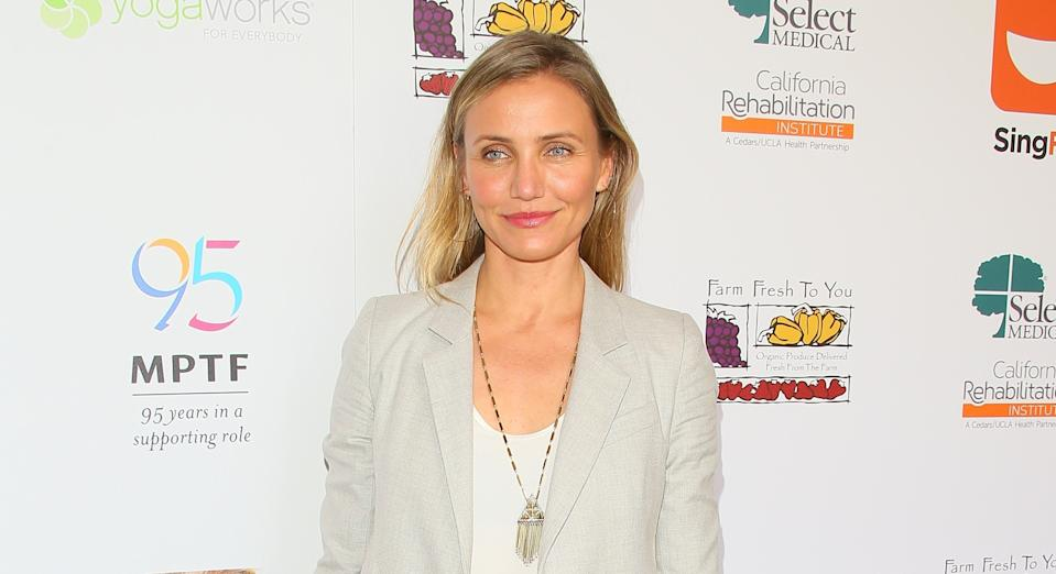 Cameron Diaz recently launched 'clean' wine brand Avaline. (Getty Images)