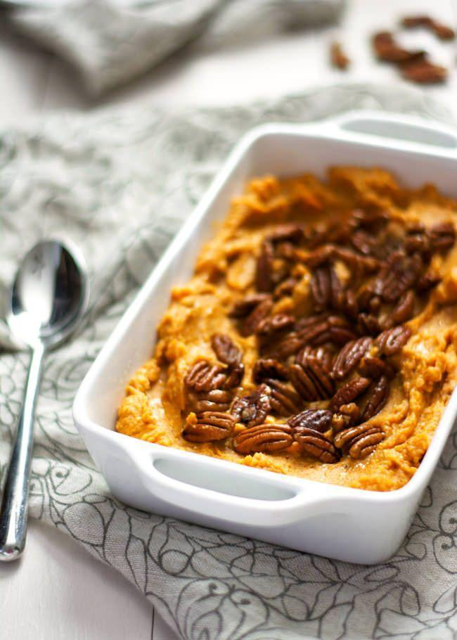 """<p>This casserole is sure to spice-up your Thanksgiving dinner.</p><p><strong>Get the recipe at <a href=""""http://withsaltandwit.com/gouda-and-sweet-potato-casserole/"""" rel=""""nofollow noopener"""" target=""""_blank"""" data-ylk=""""slk:With Salt and Wit"""" class=""""link rapid-noclick-resp"""">With Salt and Wit</a>.</strong></p>"""
