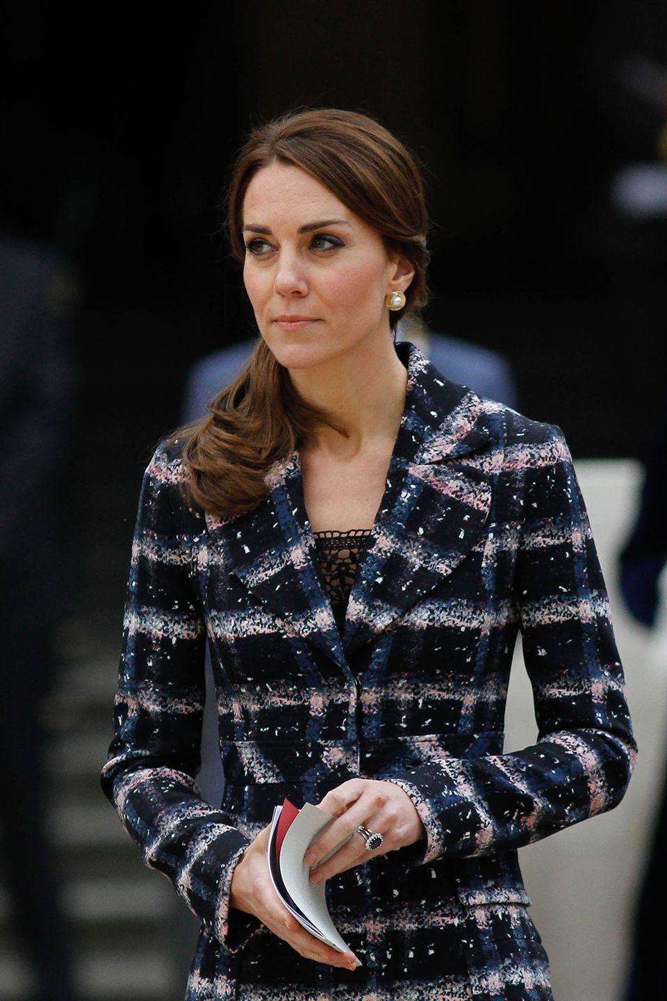"""<p>According to reports, Kate and William's <a href=""""http://www.eonline.com/news/742460/prince-william-and-kate-middleton-s-royal-staff-threatens-to-strike"""" rel=""""nofollow noopener"""" target=""""_blank"""" data-ylk=""""slk:royal staff threatened to go on strike"""" class=""""link rapid-noclick-resp"""">royal staff threatened to go on strike</a> in 2016 after they found out they'd be taking a pay cut. The charity that manages staff salaries proposed a cut that would decrease every worker's salary by $5,000 per year. It was never reported as to whether or not the staff did go on strike. Kate might have dodged a bullet here, but the incident didn't look good in headlines for her or the palace.</p>"""