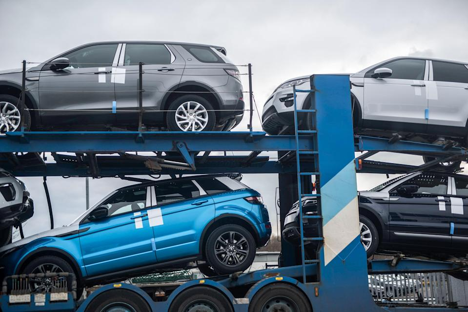 Jaguar Land Rover is the biggest auto manufacturer in the UK, producing more than 530,000 vehicles per year. Photo: Matthew Lloyd/Getty Images