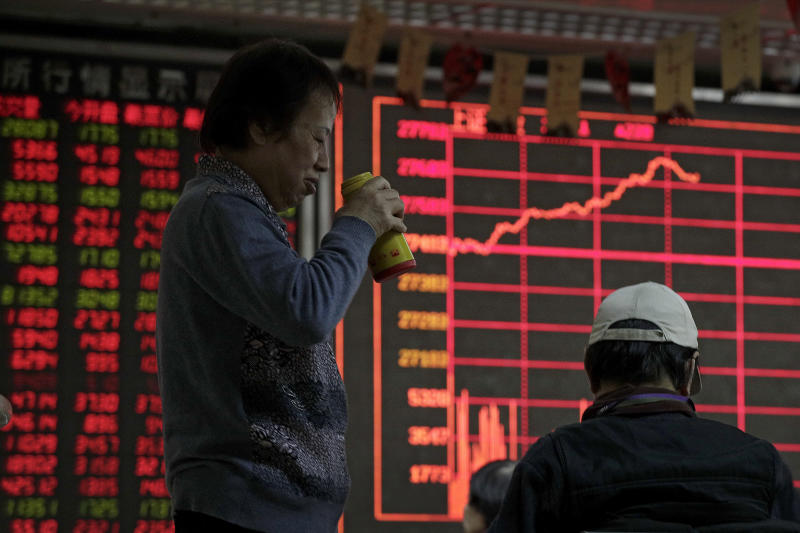 Asian shares rally on hopes for China-US trade breakthrough