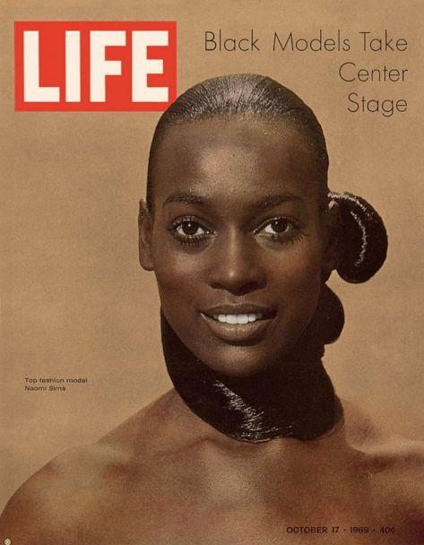 PHOTO: Naomi Sims, photographed by Yale Joel, LIFE magazine, October 1969. (Yale Joel/The LIFE Premium Collection/Getty Images via Abrams)