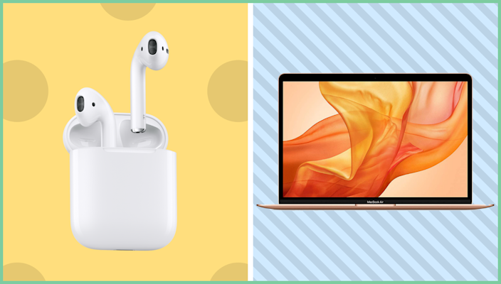The best sales this weekend are right here—like save on Apple AirPods and MacBook Air.. (Photo: Apple)