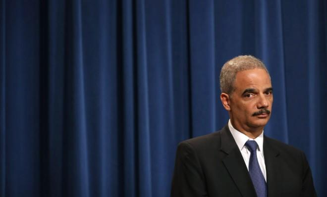 Attorney General Eric Holder says herecused himself last year from a national security leak probe that obtained phone records of AP journalists.