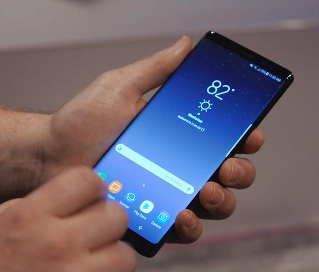 The Note 8 is a dead ringer for the Galaxy S8 Plus.