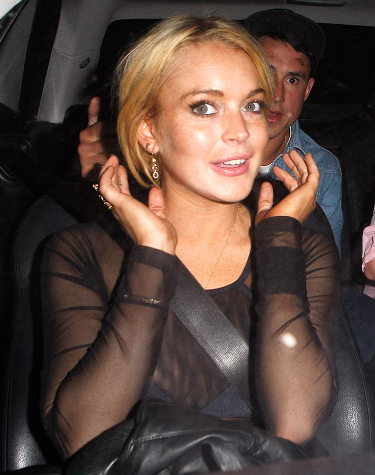 """See <a href=""""http://www.gossipcop.com/lindsay-lohan-dating-israeli-eilat-anschel/"""" target=""""new"""">Gossip Cop</a> for what Lindsay Lohan herself has to say about going commando with a hot, female Israeli soldier with whom TMZ says she's gotten """"pretty serious."""" AlphaX-Araujo-Maciel/ <a href=""""http://www.x17online.com"""" target=""""new"""">X17 Online</a> - July 1, 2010"""