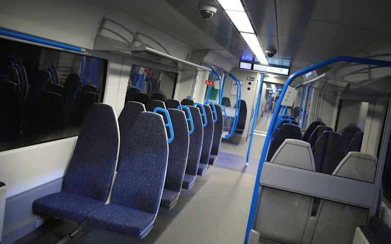 Commuters have complained that seats are considerably narrower than they were before - Getty Images