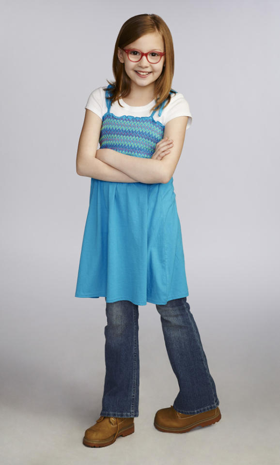 """Bebe Wood stars as Shania in """"The New Normal"""" on NBC."""