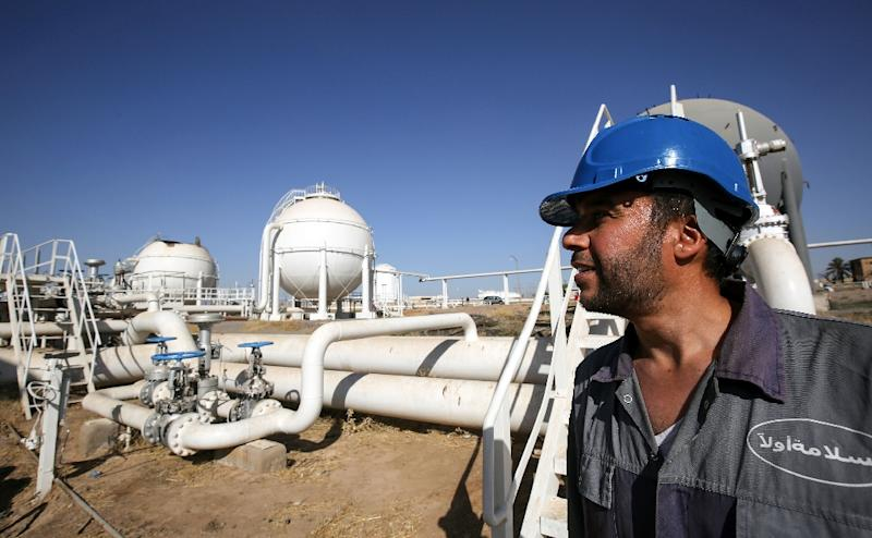 Low prices for oil such as from Iraq's Bai Hassan field shown here