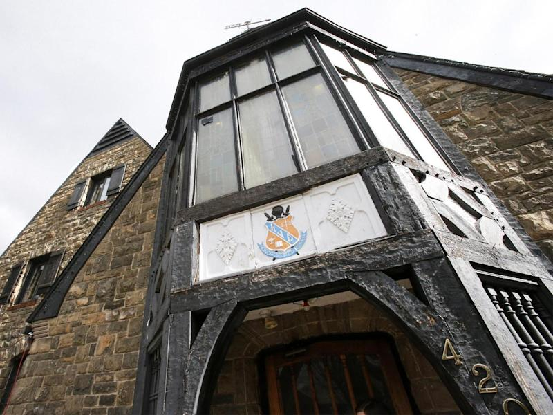 The Kappa Delta Rho fraternity house at Penn State was the site of another Greek life controversy in 2015 (AP)