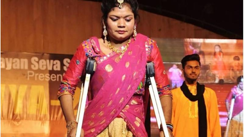 Jaipur: Narayan Seva Sansthan organizes ramp walk exclusively for specially-abled