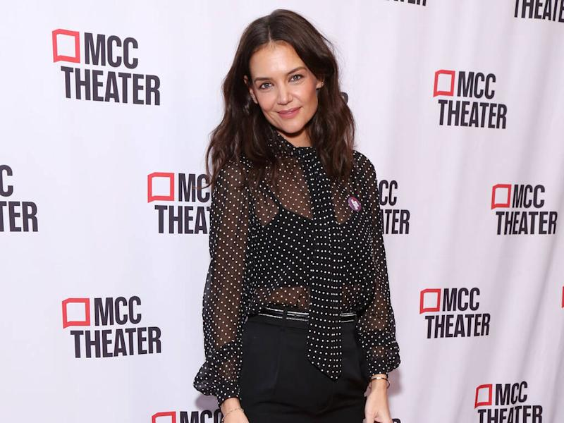 Katie Holmes didn't expect cashmere bra pictures to go viral