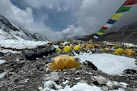 Dozens have recently been taken ill at Everest base camp