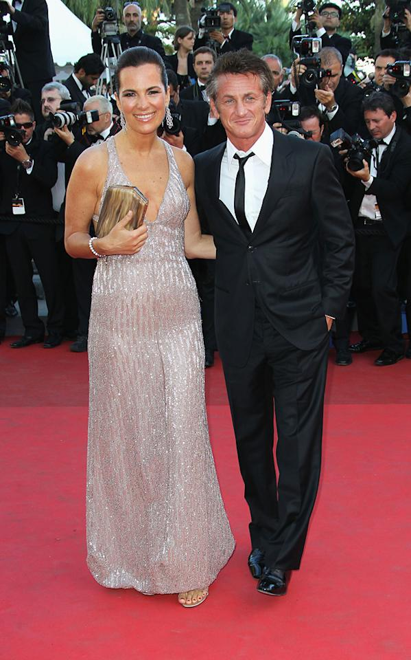 """<a href=""""http://movies.yahoo.com/movie/contributor/1808892647"""">Roberta Armani</a> and <a href=""""http://movies.yahoo.com/movie/contributor/1800019044"""">Sean Penn</a> attend the 64th Annual Cannes Film Festival premiere of """"This Must Be The Place"""" on May 20, 2011."""