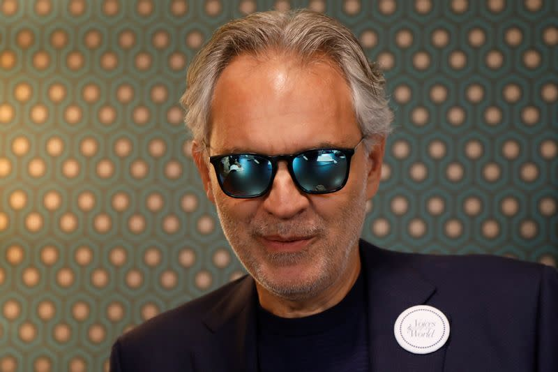 Opera star Bocelli to sing from empty Duomo in Milan on Easter Sunday