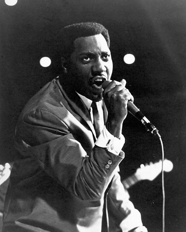 "<p>First artist to land a posthumous No. 1 hit on the Hot 100. The R&B legend topped the chart with poignant ""(Sittin' on) the Dock of the Bay"" in March1968, three months after he died in a plane crash. (Photo: Michael Ochs Archives/Getty Images) </p>"