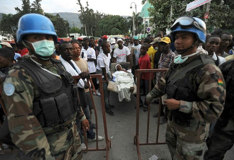 The UN once had a strong peacekeeping contingent in Haiti but no longer, after multiple scandals