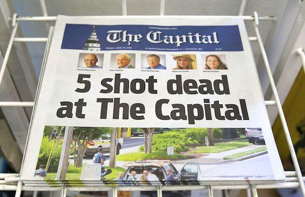 Man Charged in Capital Gazette Shooting Pleads Guilty to All Charges
