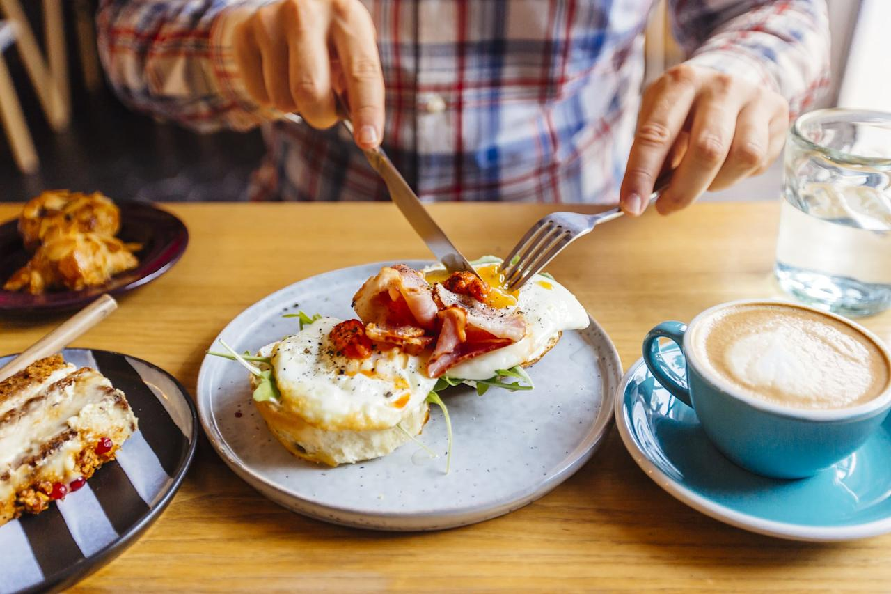 """<p>A good breakfast fuels the soul but rarely do we indulge in big breakfasts for the sake of time (and sleep). However, carving out even just 15 minutes <a href=""""https://www.popsugar.com/fitness/What-Eat-Breakfast-Lose-Weight-35829615"""" class=""""ga-track"""" data-ga-category=""""Related"""" data-ga-label=""""http://www.popsugar.com/fitness/What-Eat-Breakfast-Lose-Weight-35829615"""" data-ga-action=""""In-Line Links"""">to eat a healthy breakfast </a> can make you instantly feel more awake and energetic. Everyone knows a happy stomach equals a happier you.</p>"""