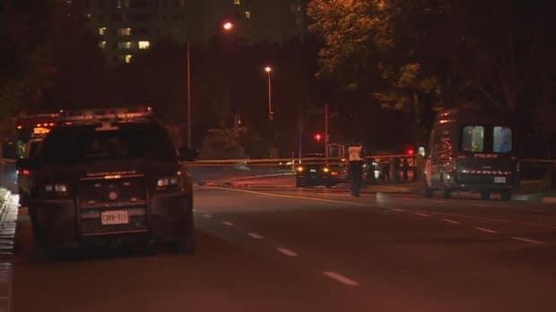 Police are investigating after the death of a man in Scarborough on Friday night. (Michael Aitkens/CBC - image credit)