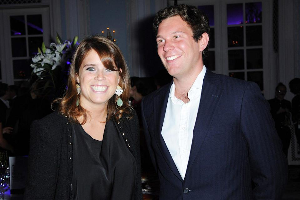 "<p>Princess Eugenie and Jack Brooksbank first met during a 2010 ski trip in Verbier, Switzerland. Eugenie said it was ""love at first sight"" — and Jack agreed.</p> <p>""We met when I was 20, he was 24,"" she said. ""[We] fell in love. We have the same passions and drive for life.""</p>"