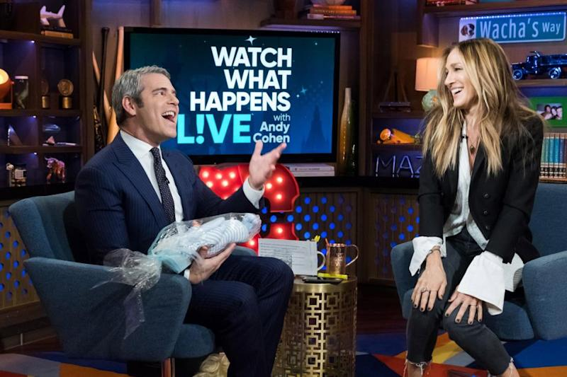SJP appeared on Watch What Happens Live with Andy Cohen. Source: Getty