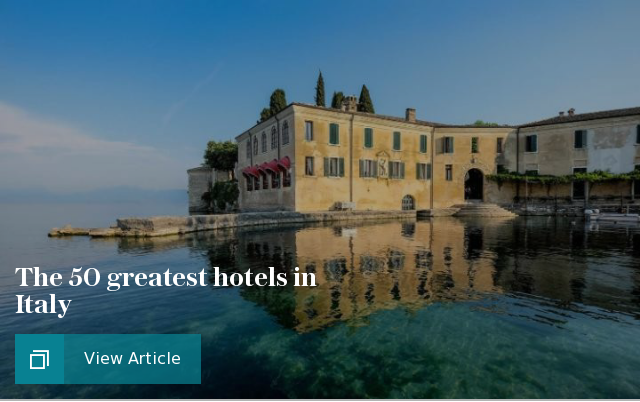 Italy best hotels