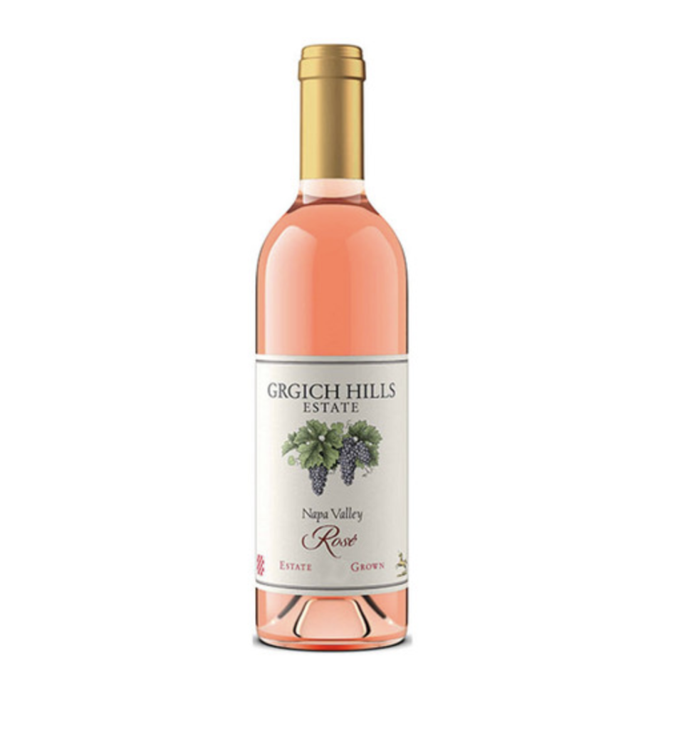 """<p><strong>Grgich Hills Estate</strong></p><p>wine.com</p><p><strong>$25.99</strong></p><p><a href=""""https://go.redirectingat.com?id=74968X1596630&url=https%3A%2F%2Fwww.wine.com%2Fproduct%2Fgrgich-hills-estate-rose-2018%2F519638&sref=https%3A%2F%2Fwww.prevention.com%2Ffood-nutrition%2Fg33025044%2Fbest-rose-wine%2F"""" rel=""""nofollow noopener"""" target=""""_blank"""" data-ylk=""""slk:Shop Now"""" class=""""link rapid-noclick-resp"""">Shop Now</a></p><p>Napa Valley may be famous for its iconic reds, but you'll find outstanding pink wines here too. Grgich Hills Estate's version is based on Cabernet Sauvignon, with some Merlot, Zinfandel, and Cabernet Franc to round it out. These grapes are all chock-full of polyphenols. A little creamy on the palate, this rosé boasts notes of juicy watermelon, ripe peach, and wild strawberry with a delicate note of cherry blossoms. Ideal for balmy summer evenings.</p>"""