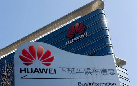 <span>Huawei&nbsp;denies having any ties to the Chinese government </span> <span>Credit: &nbsp;Andy Wong/AP </span>