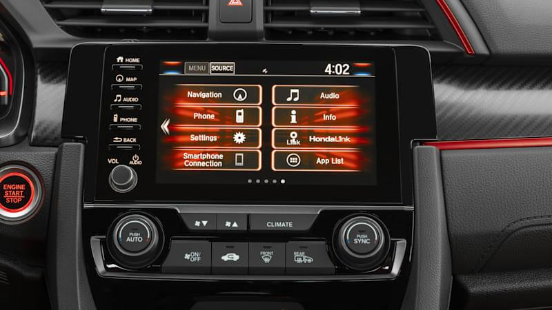 2020 Honda Civic Type R infotainment
